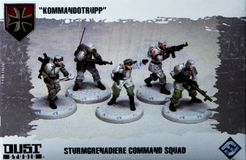 Dust Tactics: Sturmgrenadiere Command Squad –