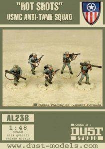 Dust Tactics: USMC Anti-tank Squad –