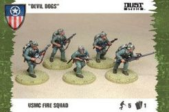 Dust Tactics: USMC Fire Squad –