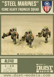 Dust Tactics: USMC Heavy Engineer Squad –