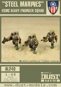 Dust Tactics: USMC Heavy Engineer Squad –