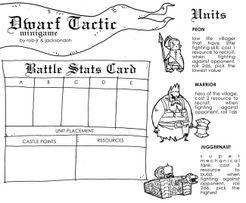 Dwarf Tactic Minigame