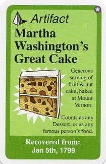 Early American Chrononauts: Martha Washington's Great Cake