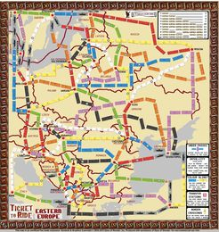 Eastern Europe (fan expansion to Ticket to Ride)