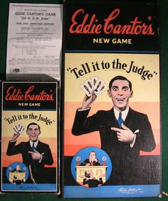 Eddie Cantor's Game: Tell It to the Judge