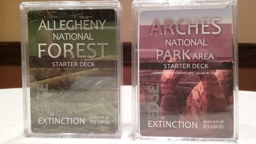 Edge of Extinction: The Educational Trading Card Game