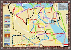 Egypt (fan expansion to Ticket to Ride)
