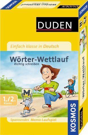 Einfach klasse in Deutsch: Wörter-Wettlauf