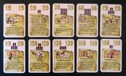El Grande: König & Intrigant – Unverkäufliche Sonderkarten