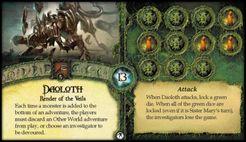 Elder Sign: Daoloth Promo Card