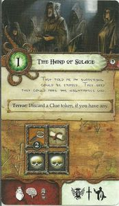 Elder Sign: The Hand of Solace – Promotional Adventure Card
