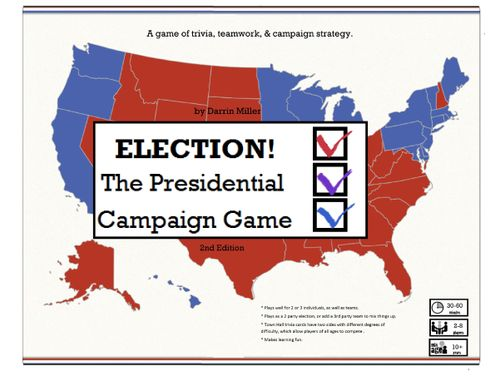 ELECTION! The Presidential Campaign Game