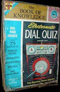 Electromatic Dial Quiz