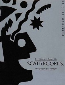 Electronic Scattergories Platinum Edition