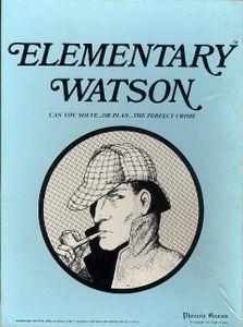 Elementary Watson