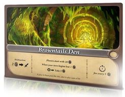 Enchanters: Browntails Den Promo Card