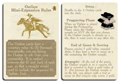 End of the Trail: Outlaw Mini-Expansion