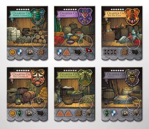 Endeavor: Age of Sail – Charter Companies Mini-Expansion