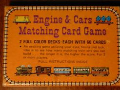 Engine & Cars Matching Card Game