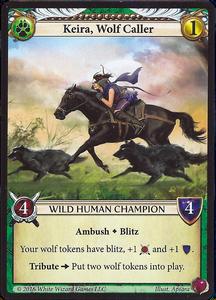 Epic Card Game: Keira, Wolf Caller Promo Card