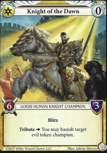 Epic Card Game: Knight of the Dawn Promo Card