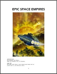 Epic Space Empires