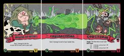 Epic Spell Wars of the Battle Wizards: Duel at Mt. Skullzfyre – Haggatha the Heffer's Crushazorian Godstorm Promo Cards