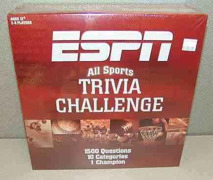 ESPN All Sports Trivia Challenge