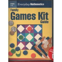 Everyday Mathematics Family Games Kit for Early Childhood