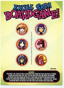 Excel Saga Boardgame!