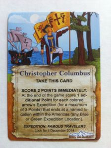 Expedition: Famous Explorers Promo Card – Christopher Columbus