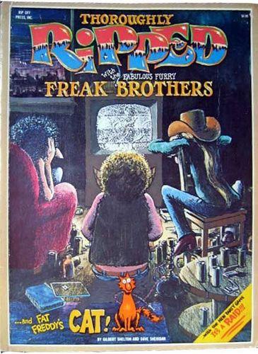 Fabulous Furry Freak Brothers: It's A Raid!