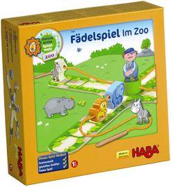 Fädelspiel: Im Zoo