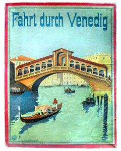 Fahrt durch Venedig