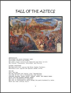Fall of the Aztecs