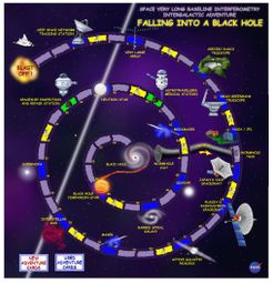 Falling into a Black Hole: A Space VLBI Intergalactic Adventure