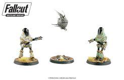 Fallout: Wasteland Warfare – Robots: Protectron And Eyebot