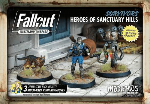 Fallout: Wasteland Warfare – Survivors: Heroes of Sanctuary Hills
