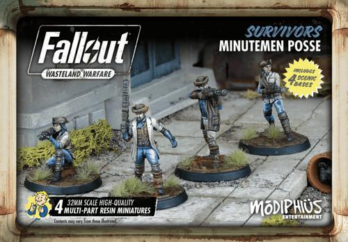 Fallout: Wasteland Warfare – Survivors: Minutemen Posse