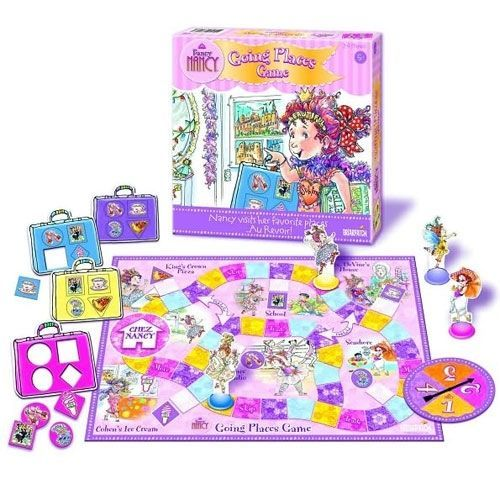 Fancy Nancy Going Places Game
