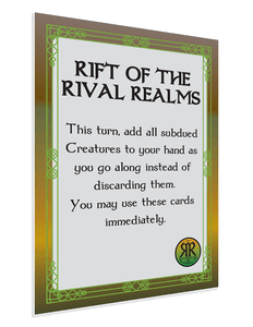 Fantastiqa: Rift of the Rival Realms Promo Card