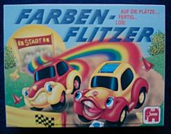 Farben-Flitzer