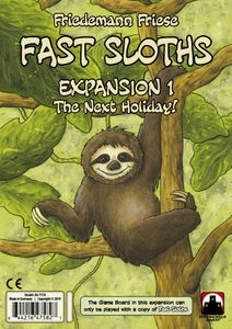 Fast Sloths: Expansion 1 – The Next Holiday!