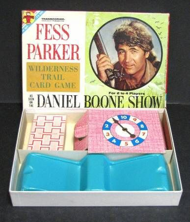 Fess Parker Wilderness Trail Card Game