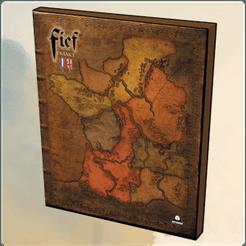 FIEF France: Gameboard