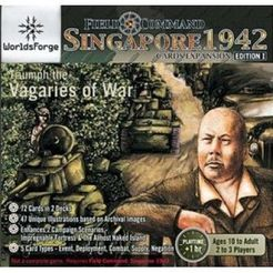Field Command: Singapore 1942 – Cards Expansion