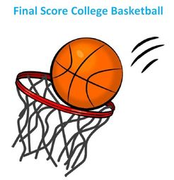 Final Score College Basketball Game