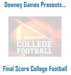 Final Score College Football
