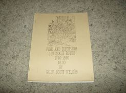 Fire and Discipline: 1:10 Scale Rules 1740-1850