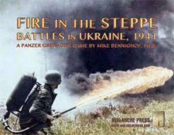 Fire in the Steppe: Battles in Ukraine, 1941 – A Panzer Grenadier Game
